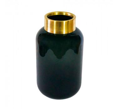 vaso-decorativo-em-vidro-na-cor-preta-30x14cm