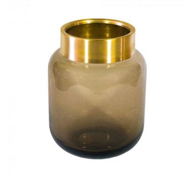vaso-decorativo-em-vidro-na-cor-marrom-22x16cm