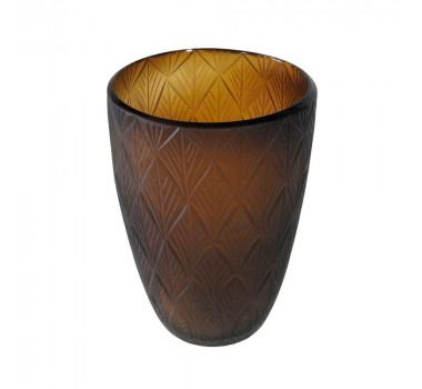vaso-decorativo-em-vidro-na-cor-marrom-23x17cm