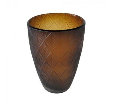 vaso-decorativo-em-vidro-na-cor-marrom-28x19cm