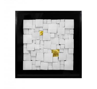 quadro-decorativo-abstrato-com-quadrados-brancos-e-dourado-60x60cm