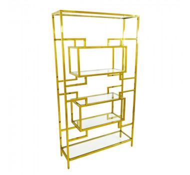 prateleira-em-metal-dourado-com-prateleiras-em-vidro-100x181x30cm