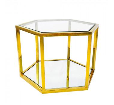 mesa-auxiliar-hexagonal-dourada-com-tampo-de-vidro-60x40x52cm