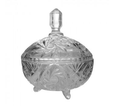 Bomboniere em Cristal - 19x17cm