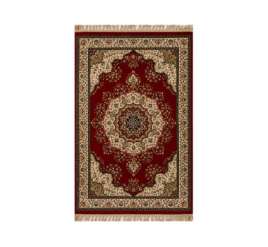 tapete-persa-tabriz-mahi-vermelho-e-bege-57x90cm
