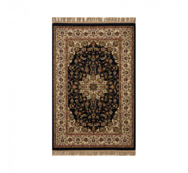 tapete-persa-tabriz-preto-com-detalhes-em-bege-e-vermelho-67x120cm