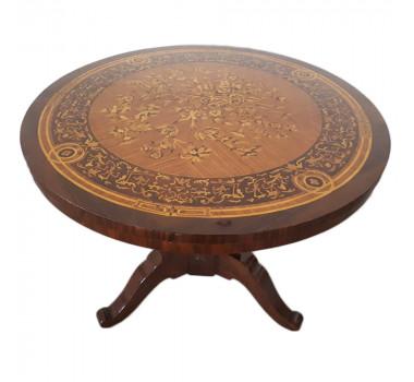 mesa-para-hall-redonda-marchetada-a-mao-80x105cm