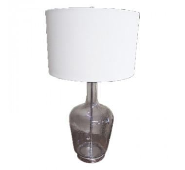 Abajur de Mesa em Vidro 80 cm X 43 cm