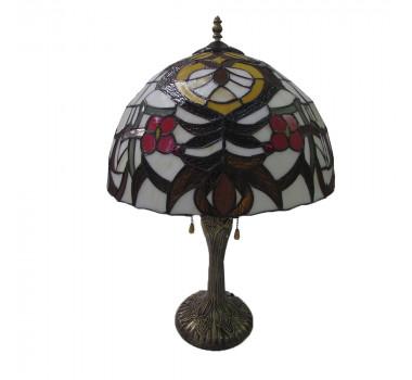 Abajur Tiffany Clássico Floral 60 cm X 40 cm