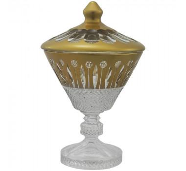 bomboniere-produzida-em-cristal-com-detalhes-em-dourado-25x17cm
