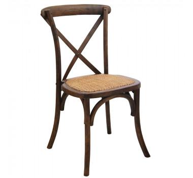 Cadeira de Madeira Oliver em Verniz