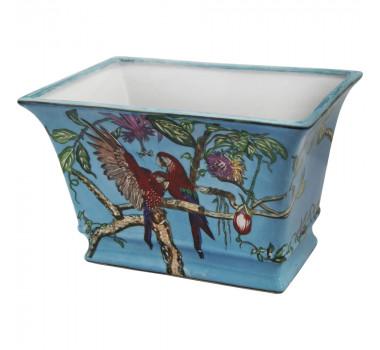 centro-de-mesa-em-porcelana-araras-vermelhas-16x25x17cm
