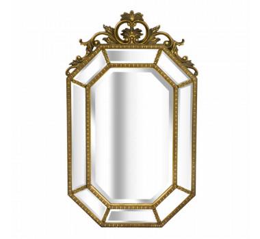 Espelho com Moldura Decorativa Lécio