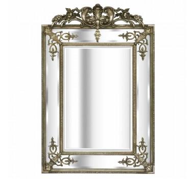 Espelho com Moldura Prata Dagmar