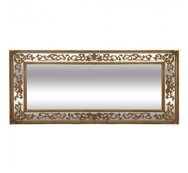 Espelho com Moldura Decorativa Clement Dourado