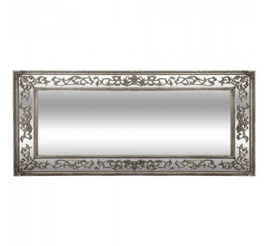 Espelho com Moldura Decorativa Clement Prata