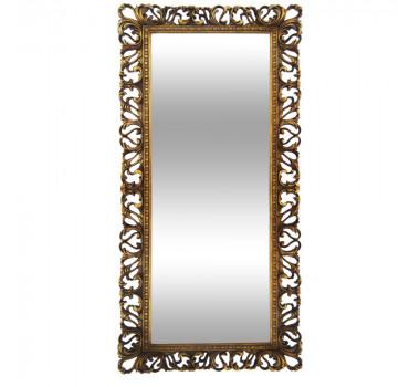 Espelho com Moldura Decorativa Guerin Dourado