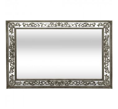 Espelho com Moldura Decorativa Morin Prata