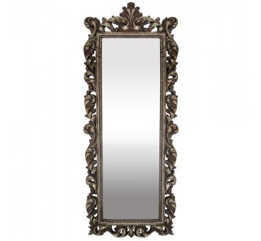 Espelho Com Moldura em Ouro Envelhecido Decorativo Serafim