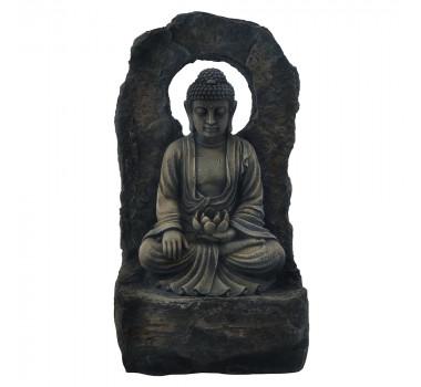 Fonte de Água Budista Resina
