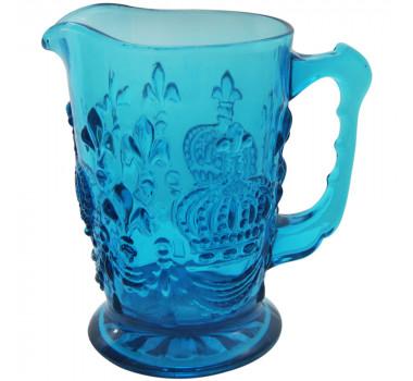 Jarra de Cristal Lewis Azul