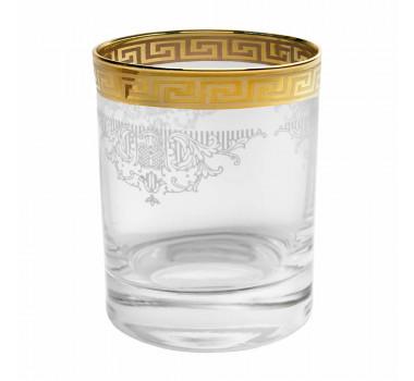 Jogo de Copos de Whisky Amsterdam Dourado