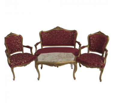 kit-sofa-classico-luis-xv-vermelho-flores-2-poltronas-e-mesa-de-centro