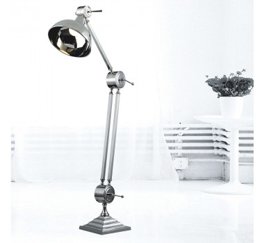 Abajur de Chão Moderno em Metal 220 cm X 35 cm