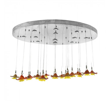 lustre-em-metal-com-20-flores-murano-130x80cm