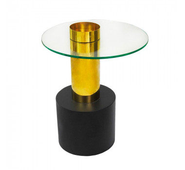 mesa-em-metal-dourado-com-base-na-cor-preta-e-tampo-de-vidro-63x50cm