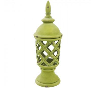Potiche em Cerâmica Verde Julian