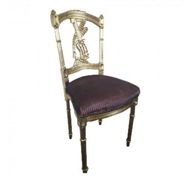 cadeira-classica-folheada-a-ouro-vinho-estampado-83x43x39cm