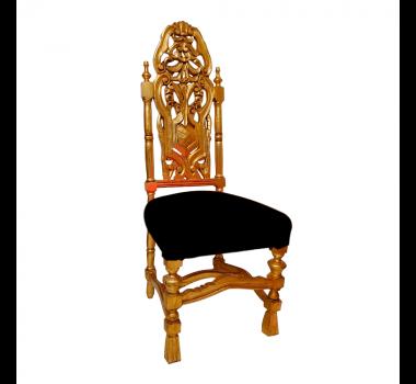 cadeira-classica-dourado-com-estofado-preto-125x49x48cm