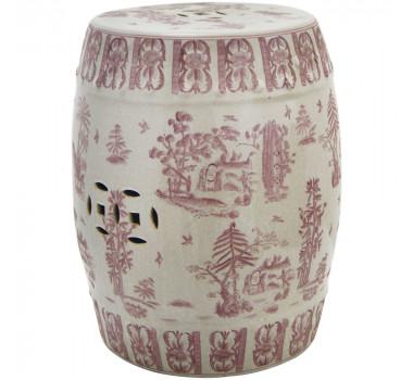 garden-seat-em-cerâmica-rosa-e-branco-pintura-decorativa-46x35cm