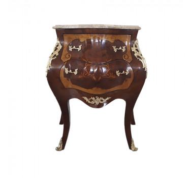 mesa-de-cabeceira-estilo-luis-xv-marchetada-com-tampo-de-marmore-crema-marfil-com-2-gavetas-72x60x82cm