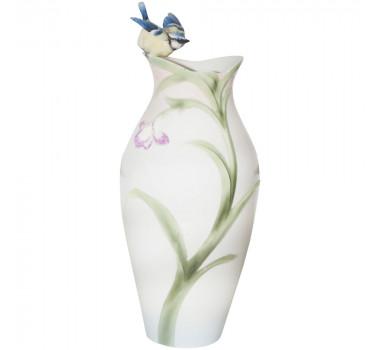Vaso Em Porcelana Decorativo Para Flores Finch