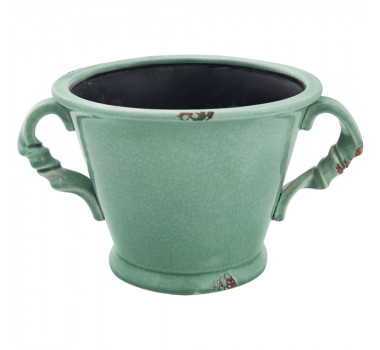 Vaso em Cerâmica Verde John