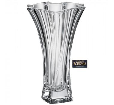 Vaso em Cristal com Alta Densidade de Chumbo Bohemia Neptun