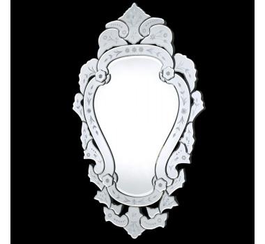 Espelho Veneziano Clássico Grande Com Peças Bisotado