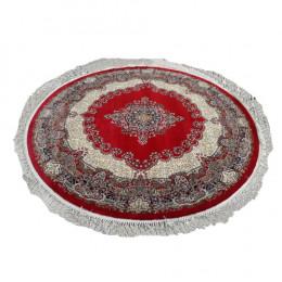 Tapete Persa Redondo Vermelho - 250x250cm