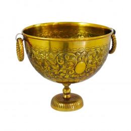 Vaso Decorativo em Alumínio - 35x46x39cm