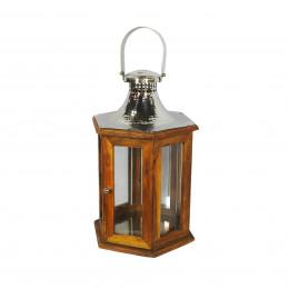 Lanterna em Metal - 60x26cm