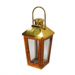 Lanterna em Metal - 65x26cm