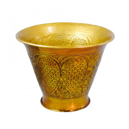 Vaso Decorativo em Alumínio - 36x45cm