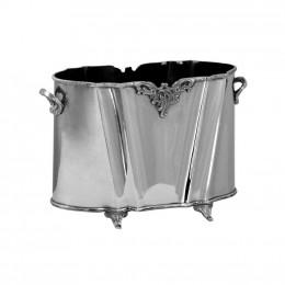 Cachepot Decorativo em Metal - 23x36x17cm