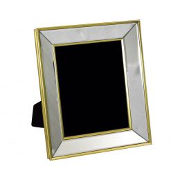 Porta Retrato Dourado Espelhado - 22x27cm