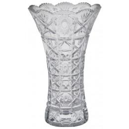 Vaso De Cristal Lapidado Translucido Lamezia