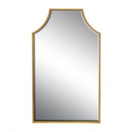 Espelho Com Moldura em Resina Dourada - 117x70cm