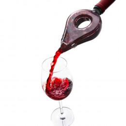 Aerador para Garrafa de Vinho em Plástico - 3,4x15,8x8cm