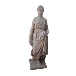 Estátua em Mármore Branco - 128x47cm